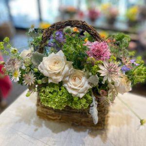 草花のアレンジメント