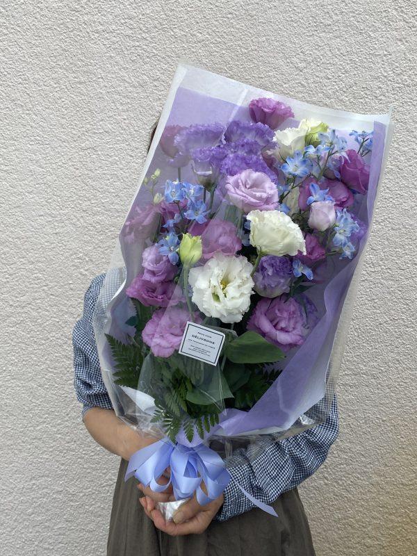御供花束紫系色